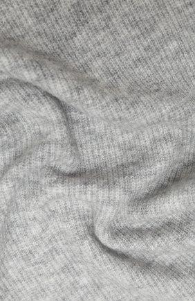 Мужские шарф ALLUDE серого цвета, арт. 205/65031 | Фото 2