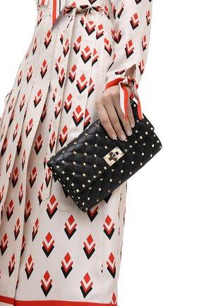 Женская сумка valentino garavani rockstud spike VALENTINO черного цвета, арт. UW2B0137/NAP | Фото 2