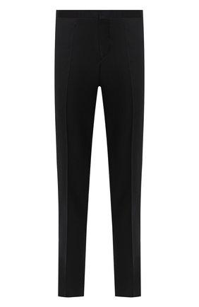 Мужской шерстяные брюки ZILLI черного цвета, арт. M0U-B0ST0-60290/0002 | Фото 1