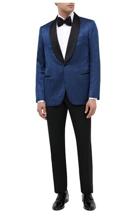 Мужской шерстяные брюки ZILLI черного цвета, арт. M0U-B0ST0-60290/0002 | Фото 2