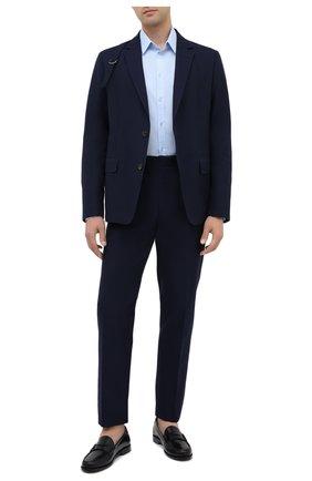 Мужские кожаные пенни-лоферы SAINT LAURENT черного цвета, арт. 630474/1VUVV | Фото 2