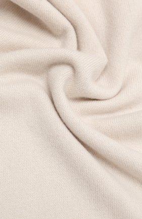 Мужской кашемировый шарф ALLUDE кремвого цвета, арт. 205/30025 | Фото 2