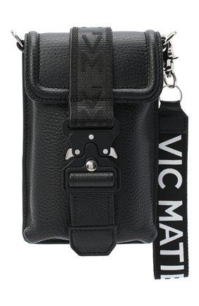 Мужская кожаная сумка VIC MATIE черного цвета, арт. 1Y0506T.999X160101 | Фото 1