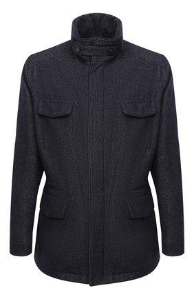 Мужская шерстяная куртка LORO PIANA темно-синего цвета, арт. FAL2230 | Фото 1