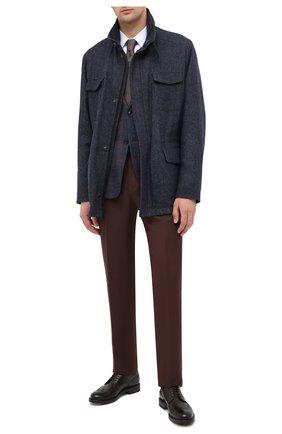 Мужская шерстяная куртка LORO PIANA темно-синего цвета, арт. FAL2230 | Фото 2