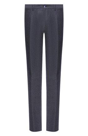 Мужской шерстяные брюки ZILLI синего цвета, арт. M0U-40-38N-D6500/0001 | Фото 1