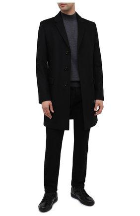 Мужские кожаные ботинки DOUCAL'S черного цвета, арт. DU2709GENTUM023NN00   Фото 2 (Материал утеплителя: Натуральный мех; Подошва: Массивная; Мужское Кросс-КТ: Ботинки-обувь, зимние ботинки)