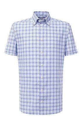 Мужская хлопковая рубашка ETON голубого цвета, арт. 1000 01156 | Фото 1