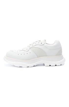 Мужские комбинированные кроссовки ALEXANDER MCQUEEN белого цвета, арт. 627222/WHRH5   Фото 3