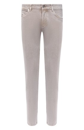 Мужские джинсы BRUNELLO CUCINELLI бежевого цвета, арт. M0H43D2210 | Фото 1
