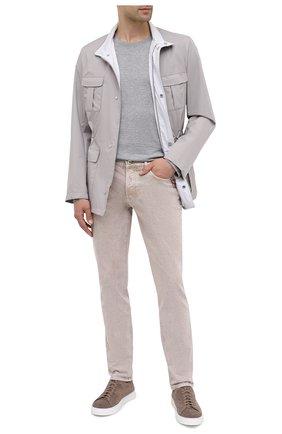 Мужские джинсы BRUNELLO CUCINELLI бежевого цвета, арт. M0H43D2210 | Фото 2