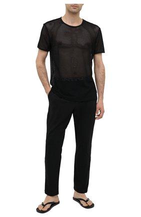 Мужские футболка CALVIN KLEIN черного цвета, арт. NB2241A | Фото 2