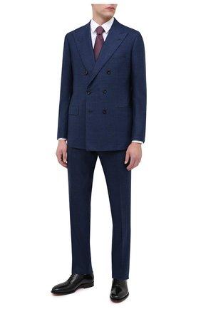 Мужской кашемировый костюм KITON синего цвета, арт. UA85K01T70 | Фото 1