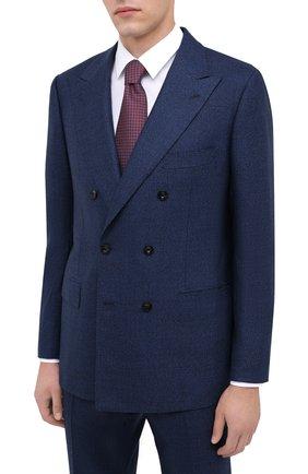 Мужской кашемировый костюм KITON синего цвета, арт. UA85K01T70 | Фото 2