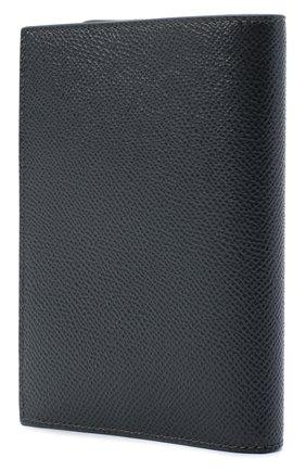 Мужская кожаная обложка для паспорта DOLCE & GABBANA темно-серого цвета, арт. BP2215/AZ602 | Фото 2