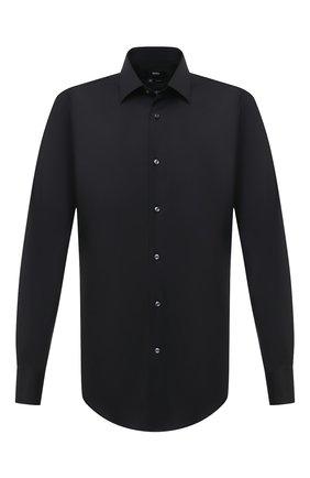 Мужская сорочка BOSS черного цвета, арт. 50432597 | Фото 1