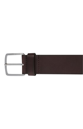 Мужской кожаный ремень BOSS коричневого цвета, арт. 50424683   Фото 3