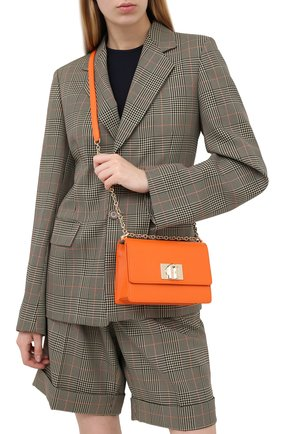 Женская сумка 1927 mini FURLA оранжевого цвета, арт. BAFKACO/ARE000 | Фото 2
