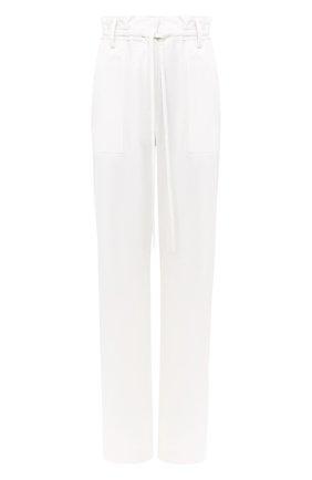 Женские шерстяные брюки TOM FORD белого цвета, арт. PAW327-FAX733 | Фото 1