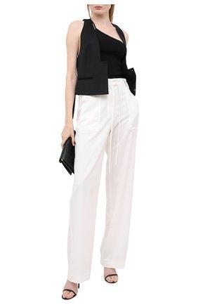 Женские шерстяные брюки TOM FORD белого цвета, арт. PAW327-FAX733 | Фото 2