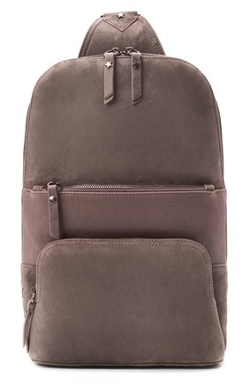 Женский рюкзак LORENA ANTONIAZZI бежевого цвета, арт. A2087B0003/425   Фото 1 (Материал: Натуральная кожа; Размер: mini; Ремень/цепочка: На ремешке; Стили: Кэжуэл)