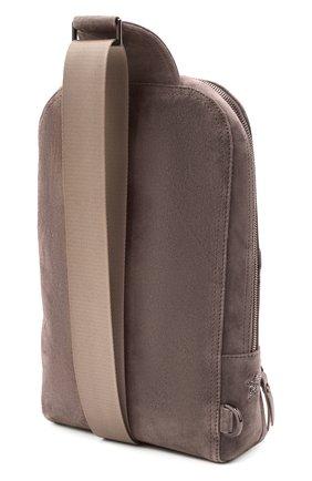 Женский рюкзак LORENA ANTONIAZZI бежевого цвета, арт. A2087B0003/425   Фото 3 (Материал: Натуральная кожа; Размер: mini; Ремень/цепочка: На ремешке; Стили: Кэжуэл)