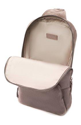 Женский рюкзак LORENA ANTONIAZZI бежевого цвета, арт. A2087B0003/425   Фото 4 (Материал: Натуральная кожа; Размер: mini; Ремень/цепочка: На ремешке; Стили: Кэжуэл)