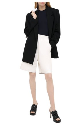 Женские кожаные мюли bv bold BOTTEGA VENETA черного цвета, арт. 630175/VBT10 | Фото 2