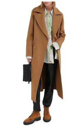 Женские брюки NANUSHKA черного цвета, арт. VINNI_BLACK_VEGAN LEATHER | Фото 2
