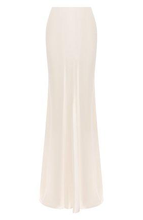 Женская шелковая юбка RALPH LAUREN кремвого цвета, арт. 290816806 | Фото 1