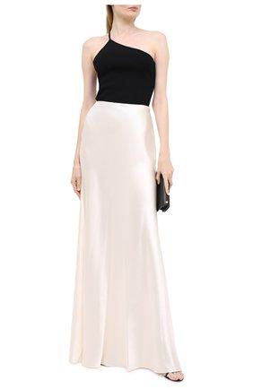 Женская шелковая юбка RALPH LAUREN кремвого цвета, арт. 290816806 | Фото 2