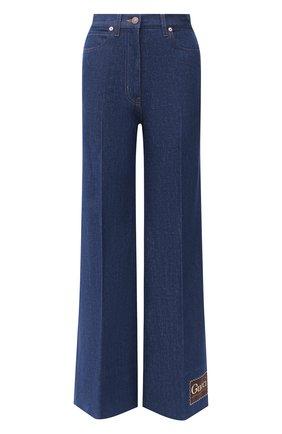 Женские джинсы GUCCI темно-синего цвета, арт. 623441/XDBCY | Фото 1