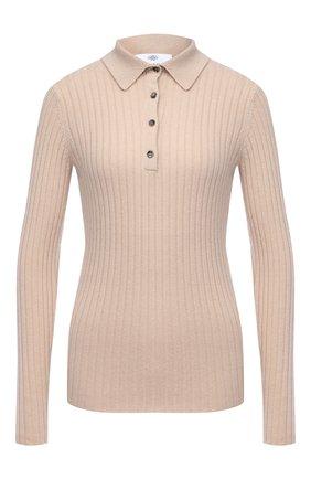 Женская кашемировый пуловер ALLUDE бежевого цвета, арт. 205/11133 | Фото 1