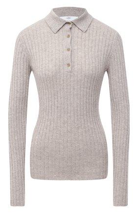 Женская кашемировый пуловер ALLUDE серого цвета, арт. 205/11133 | Фото 1
