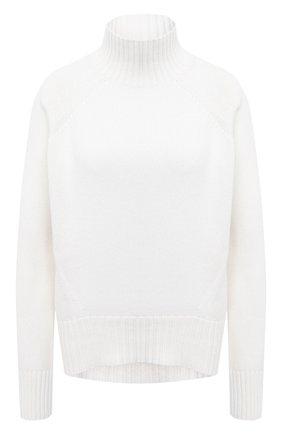 Женская кашемировый пуловер ALLUDE белого цвета, арт. 205/11181 | Фото 1