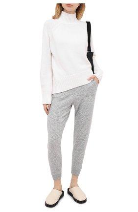 Женская кашемировый пуловер ALLUDE белого цвета, арт. 205/11181 | Фото 2