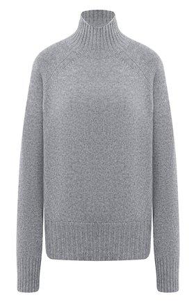 Женская кашемировый пуловер ALLUDE серого цвета, арт. 205/11181 | Фото 1