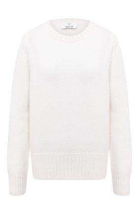 Женская кашемировый пуловер ALLUDE белого цвета, арт. 205/11182 | Фото 1