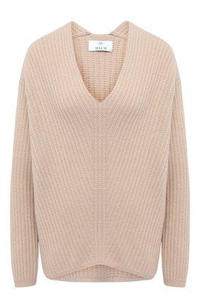 Женская кашемировый свитер ALLUDE бежевого цвета, арт. 205/11194 | Фото 1