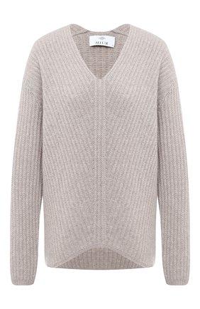 Женская кашемировый свитер ALLUDE серого цвета, арт. 205/11194 | Фото 1