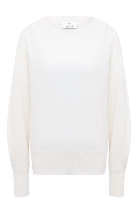 Женская кашемировый свитер ALLUDE белого цвета, арт. 205/11203 | Фото 1