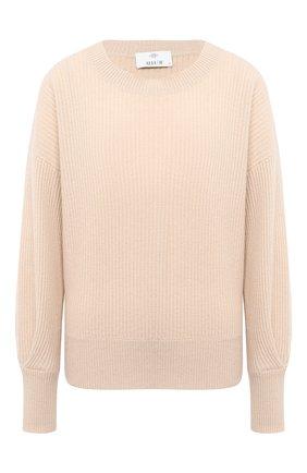 Женская кашемировый свитер ALLUDE бежевого цвета, арт. 205/11203 | Фото 1