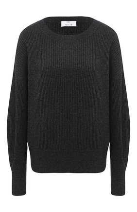 Женская кашемировый свитер ALLUDE темно-серого цвета, арт. 205/11203 | Фото 1