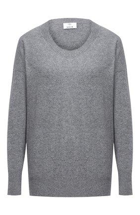 Женская кашемировый пуловер ALLUDE серого цвета, арт. 205/60004 | Фото 1