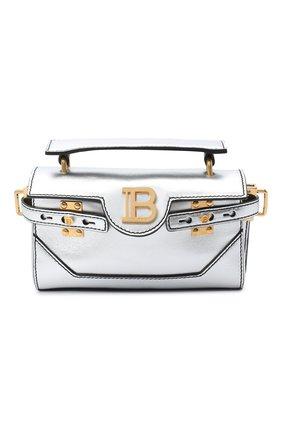 Женская сумка BALMAIN серебряного цвета, арт. UN1S525/LNFL | Фото 1