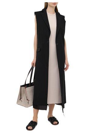 Женское платье DEVEAUX NEW YORK бежевого цвета, арт. W202-600-AG4 | Фото 2