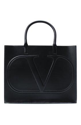 Женская сумка valentino garavani vlogo VALENTINO черного цвета, арт. UW2B0H22/QEL   Фото 1