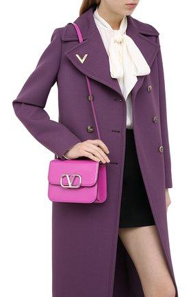 Женская сумка valentino garavani vsling VALENTINO фуксия цвета, арт. UW2B0F01/ZEE | Фото 2