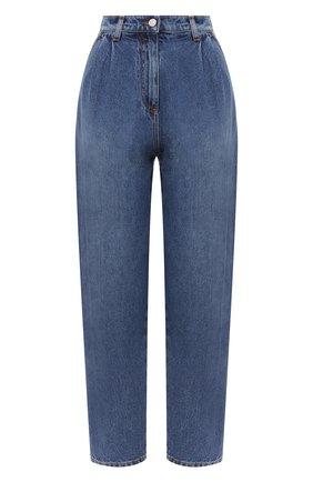 Женские джинсы MSGM синего цвета, арт. 2943MDP49L 207641   Фото 1