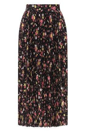 Женская юбка MSGM черного цвета, арт. 2943MDD16P 207625 | Фото 1